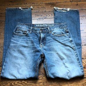 Aereopostal men's Driggs Slim boot jeans. Size